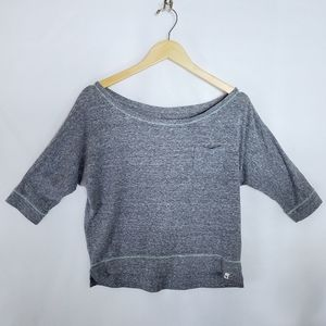 Abercrombie & Fitch heather gray sweater